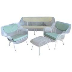 Vintage 1950s Sculptura Lounge Set by Russell Woodard