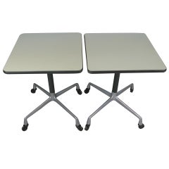 Pair of Tables by Eames for Herman Miller