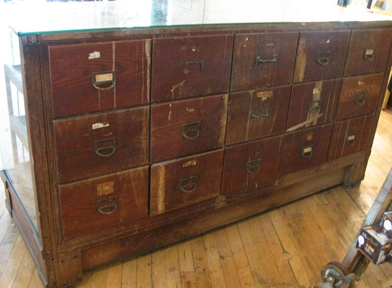 antique oak display cabinet antique oak and glass haberdashery display cabinet at 1stdibs 4118