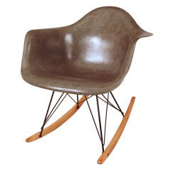Vintage 1950's Rocking Chair by Eames for Herman Miller