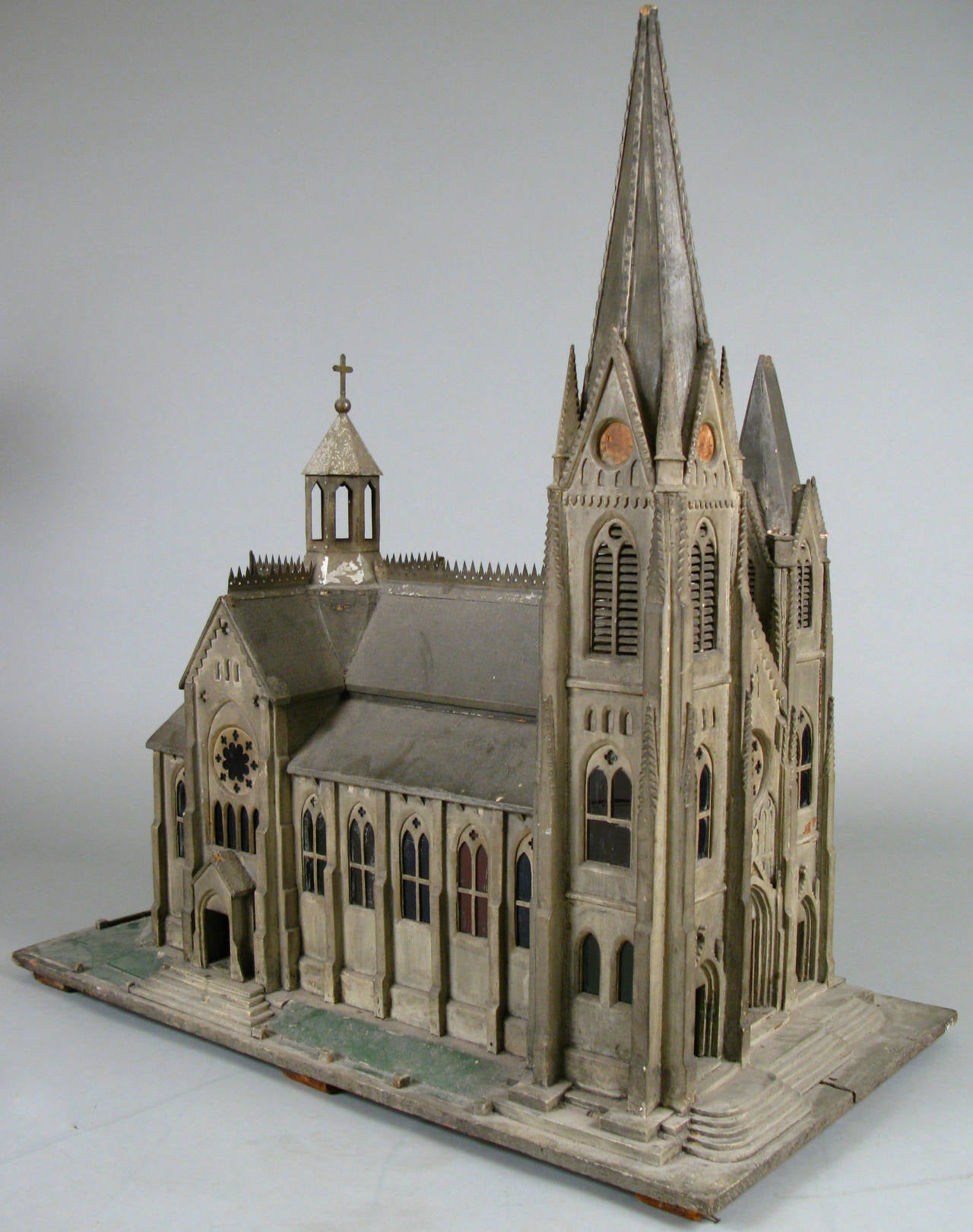 Handcrafted 19th century church model for sale at 1stdibs for Architecture models for sale