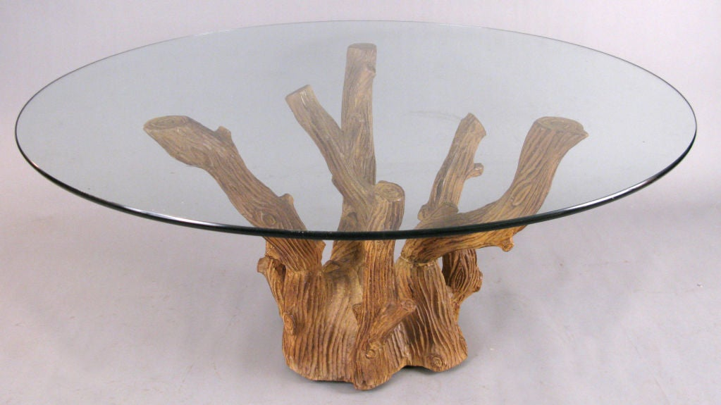 Vrai Bois 39 Tree Branch Cocktail Table At 1stdibs