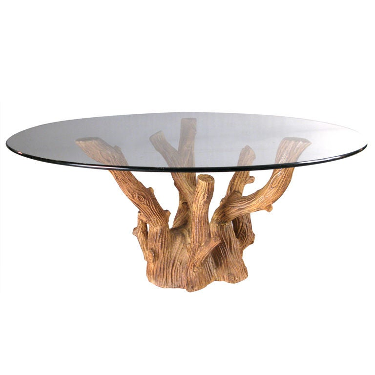 U0027Vrai Boisu0027 Tree Branch Cocktail Table For Sale