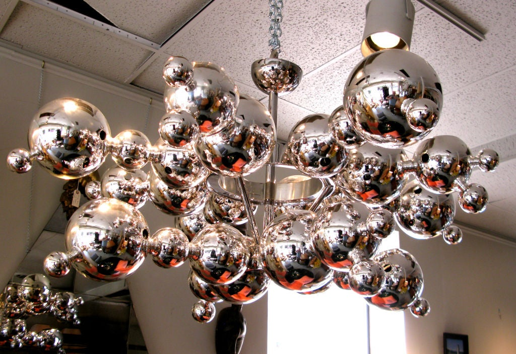 chandelier in glass by luc gensollen 3 - Bubble Chandelier
