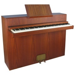 Danish Teak Piano by Andreas Christensen