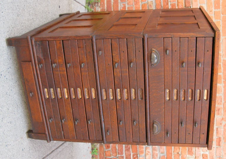 Antique Architects or Artists Flat File Cabinet 2