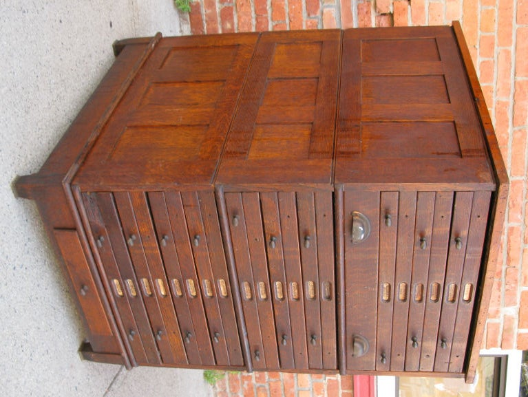 Antique Architects or Artists Flat File Cabinet 3