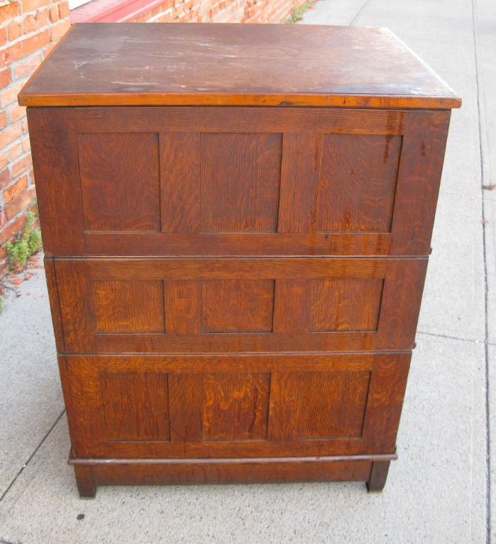 Antique Architects or Artists Flat File Cabinet 7
