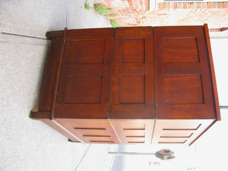 Antique Architects or Artists Flat File Cabinet 8