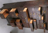 Antique Oak Stacking Apothecary Chest image 4
