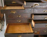 Antique Oak Stacking Apothecary Chest image 5