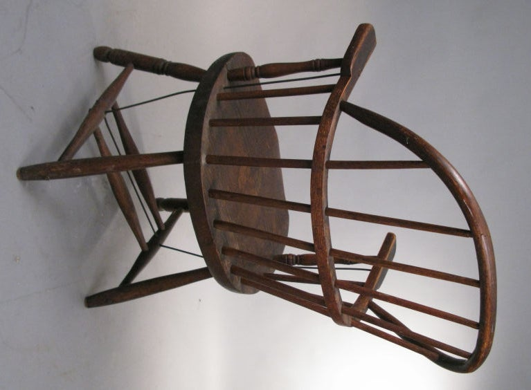 Set Of Four Antique Firehouse Windsor Chairs At 1stdibs