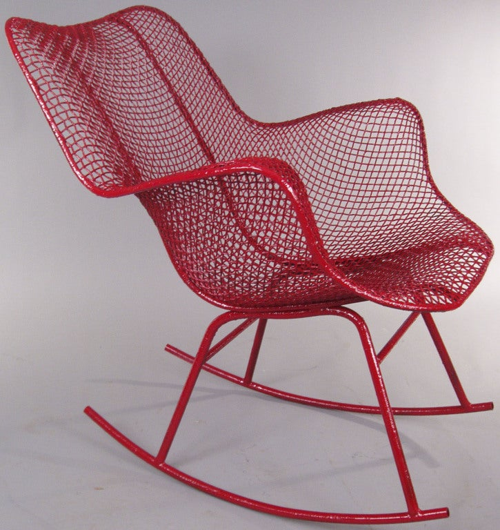 The Sculptura Rocking Chair by Russell Woodard 2