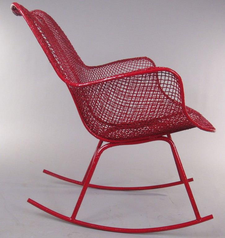 The Sculptura Rocking Chair by Russell Woodard 3