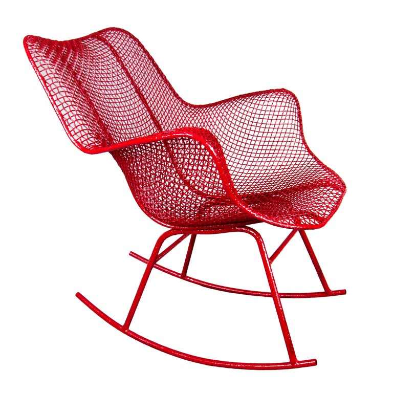 The Sculptura Rocking Chair by Russell Woodard 1
