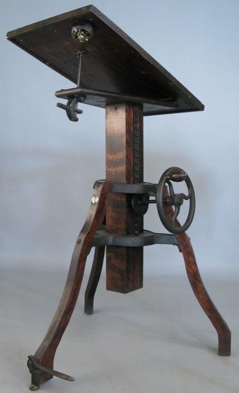 Antique Adjustable Pedestal Camera Stand At 1stdibs