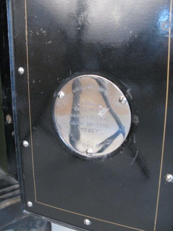 Antique Cast Iron Combination Safe 5