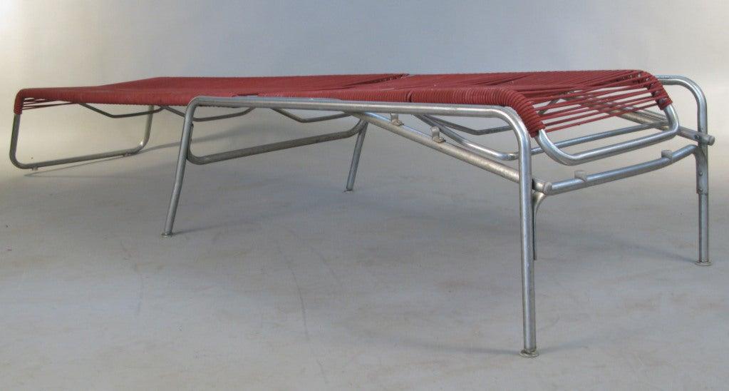 Pair of italian mid century adjustable chaises longues at 1stdibs - Chaises design italien ...