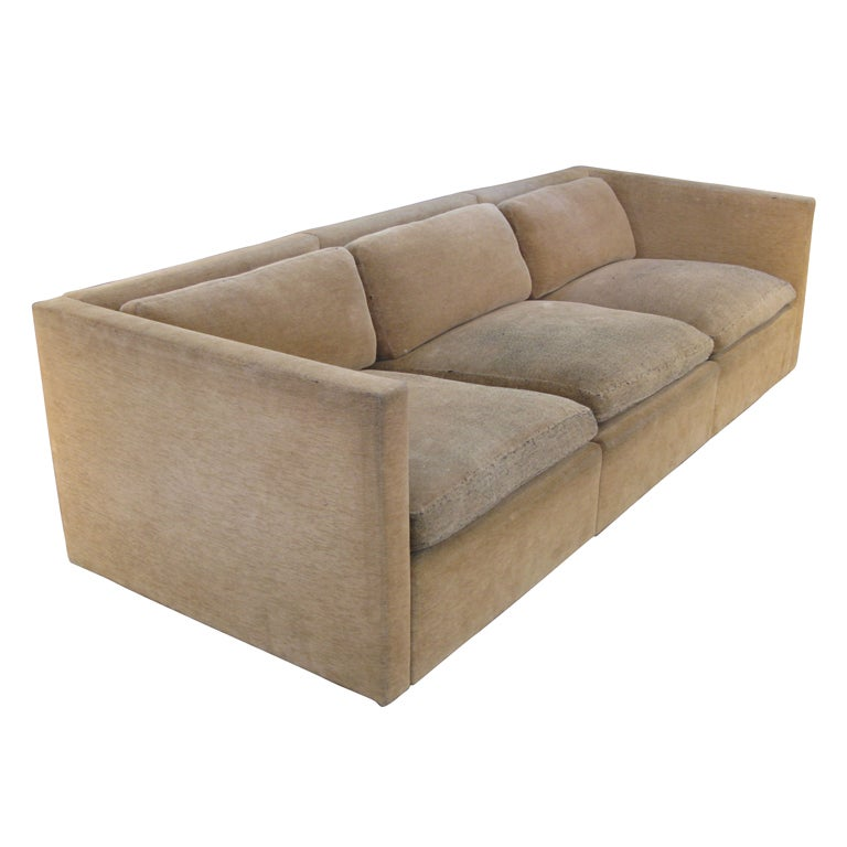 Vintage Modern Sofa By Charles Pfister For Knoll At 1stdibs