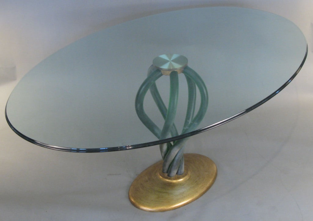 39 Bolscioi 39 Italian Murano Glass Table At 1stdibs