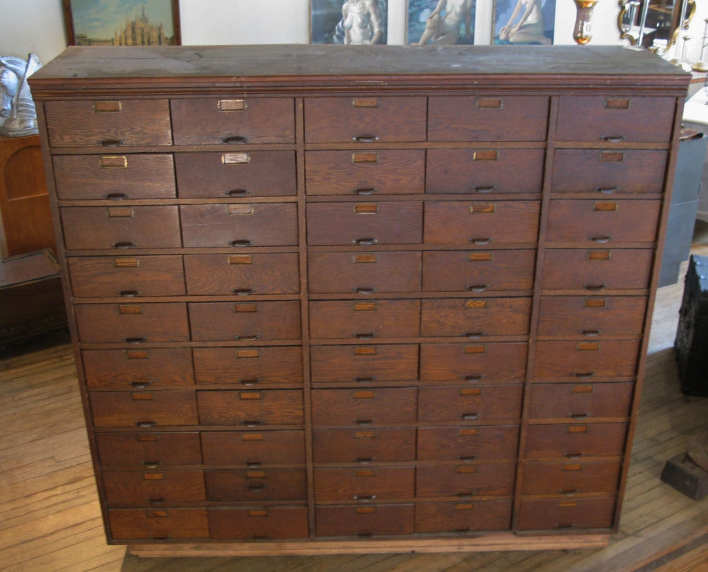 Vintage apothecary cabinet for sale - Apothecary Cabinet Antique Industrial 50 Drawer Apothecary Cabinet At 1stdibs