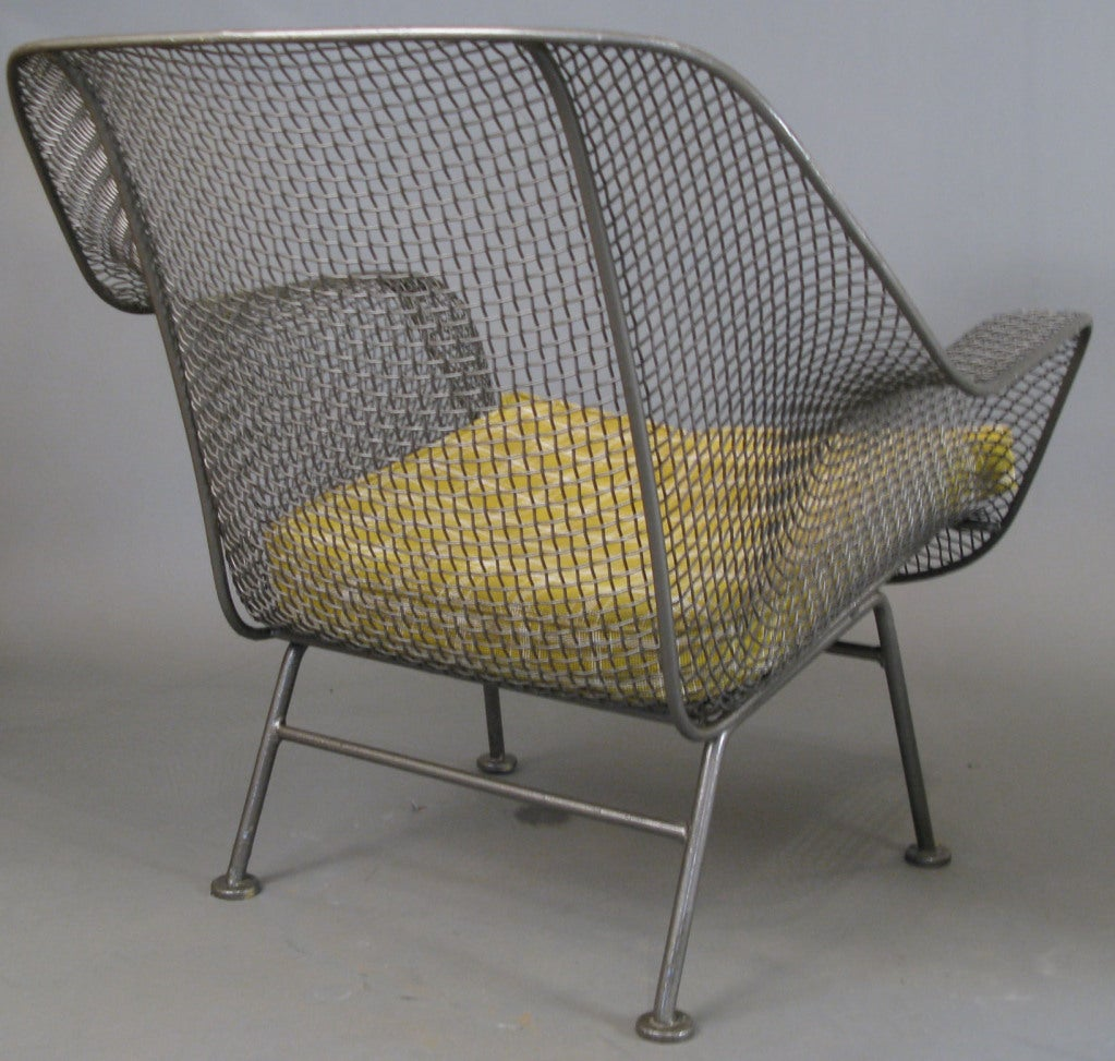 Pair Of Vintage Sculptura Lounge Chairs By Woodard At
