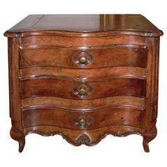 Miniature French Provencal Walnut Commode