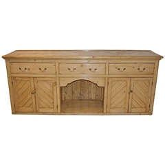 Welsh Dog Kennel Pine Dresser Base