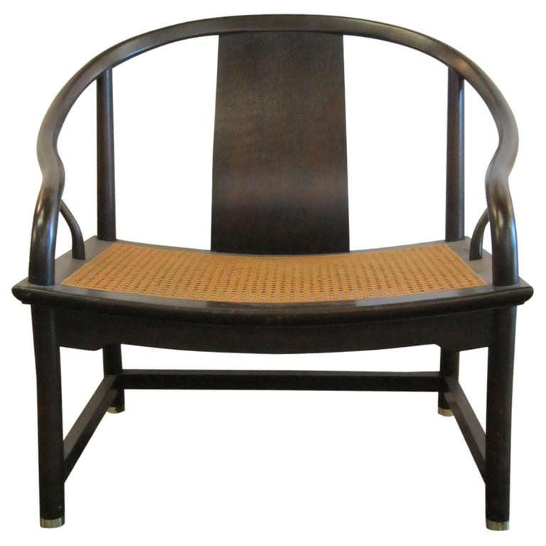 Baker Far East Lounge Chair By Michael Taylor At 1stdibs
