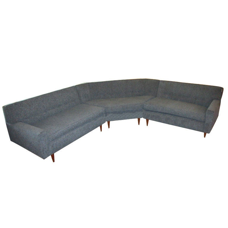 1960 39 S L Shaped Sectional Sofa At 1stdibs