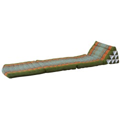 Vintage Moroccan Pillow Chaise