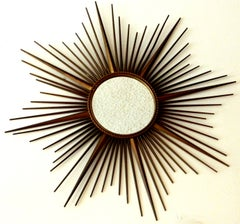 French Chaty Sunburst Mirrors