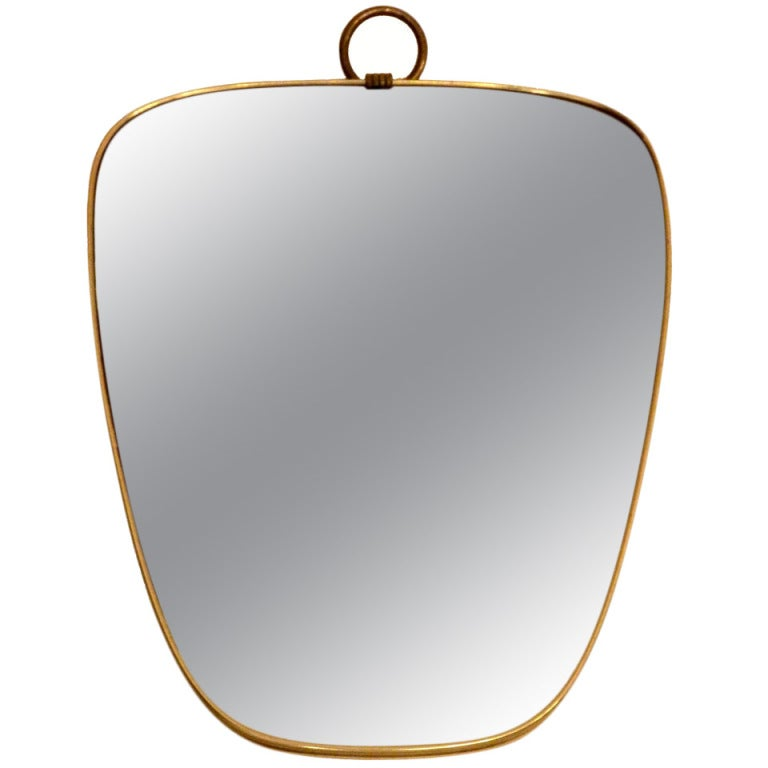 Midcentury French Mirror For Sale