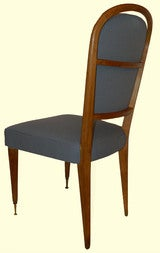 Set Of 4 Chairs By Jules Leleu thumbnail 4