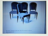 Set Of 4 Chairs By Jules Leleu thumbnail 7