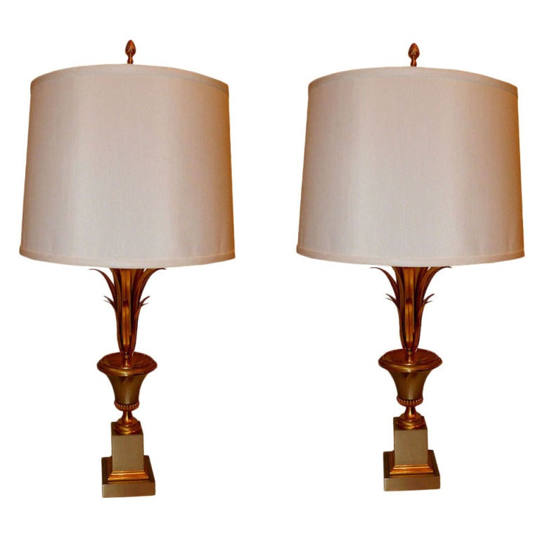 Pair Of Maison Charles Table Lamps For Sale