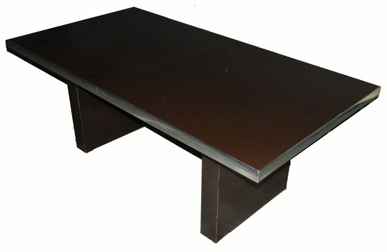 Signed huge Pierre Cardin Dining Table. 5