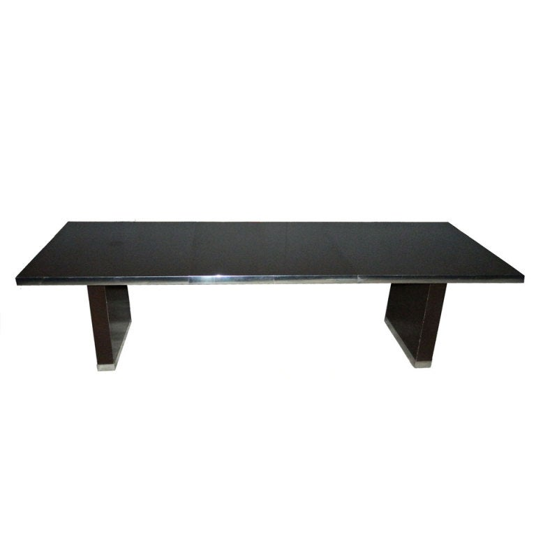 Signed Pierre Cardin Dining Table.
