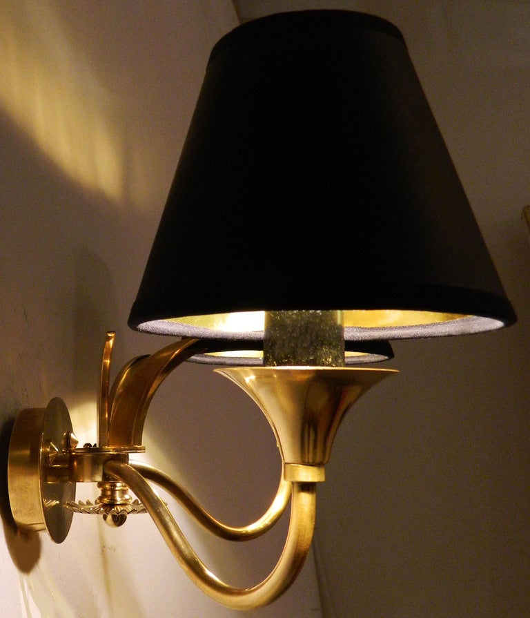 Pair of Maison Jansen Sconces In Excellent Condition For Sale In Miami, FL