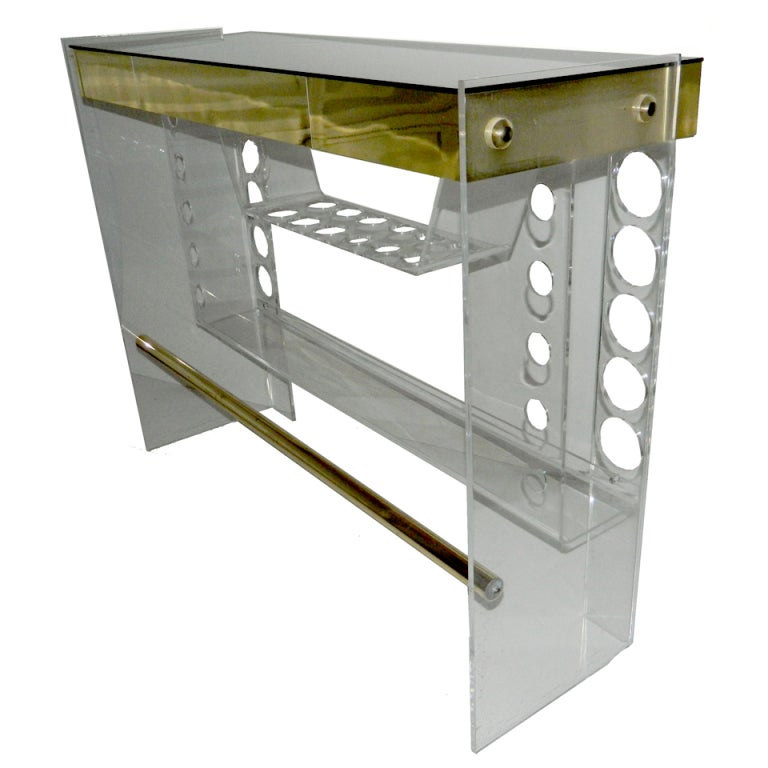 Lucite Bar For Sale