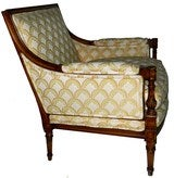 Rare and Huge Bergere by Maison JANSEN thumbnail 2