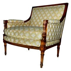 Rare and Huge Bergere by Maison JANSEN thumbnail 1