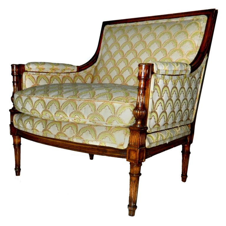 SATURDAY SALE. Rare and Huge Bergere by Maison Jansen For Sale