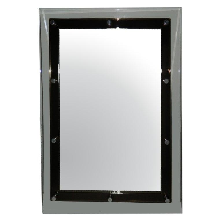Italian Lucite Mirror
