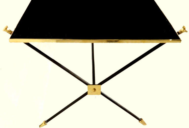 French Pair of Maison Jansen Coffee Table For Sale