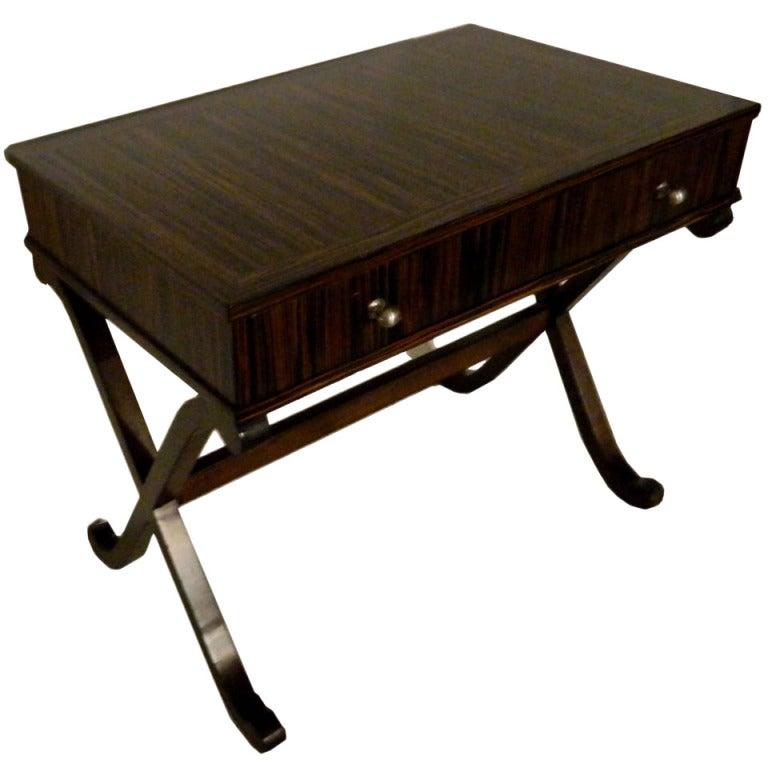 SATURDAY SALE . Ebony Macassar Lady's Desk 1