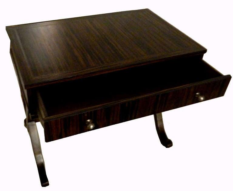SATURDAY SALE . Ebony Macassar Lady's Desk 3