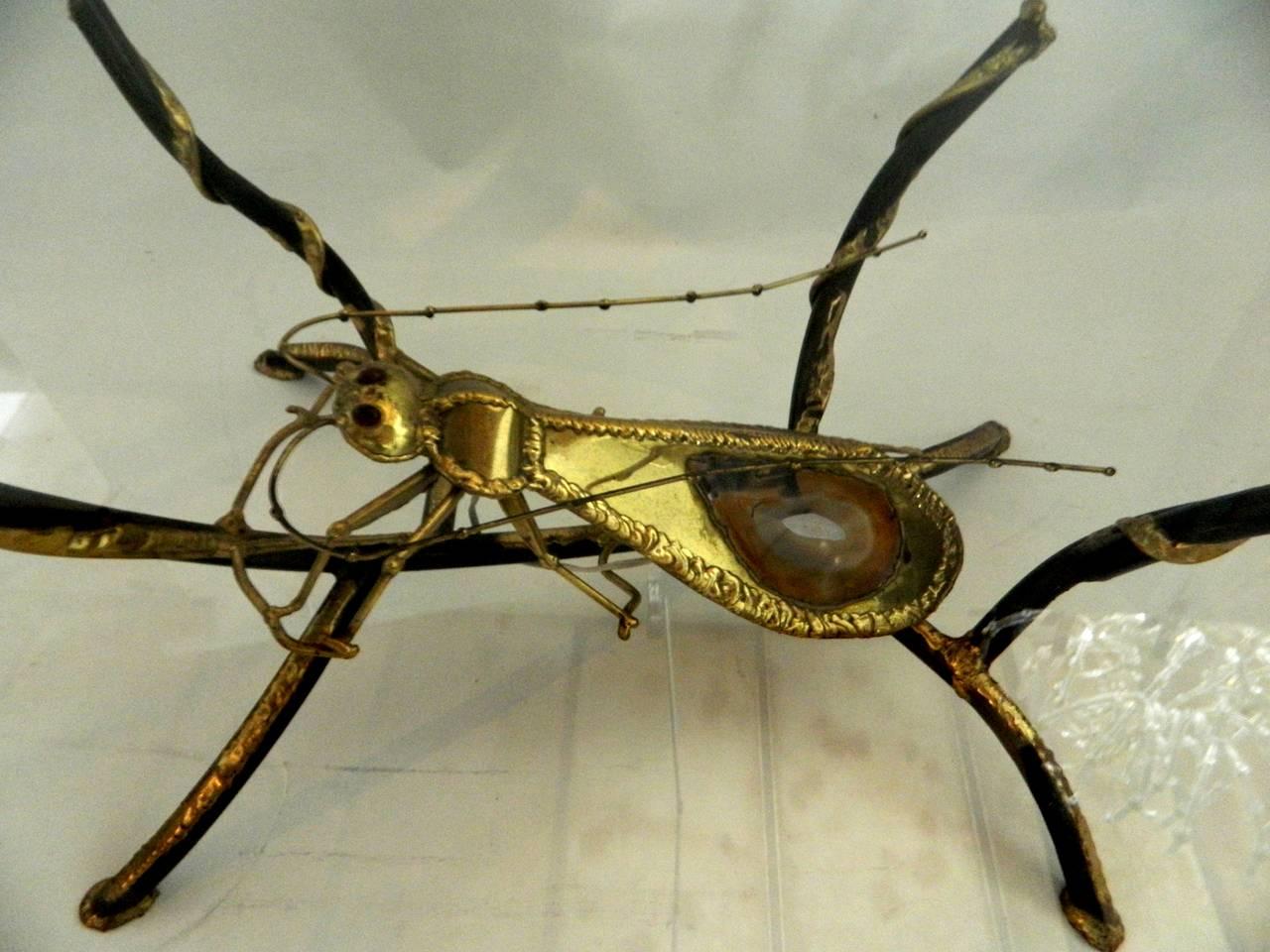 Henri Fernandez for Atelier Duval-Brasseur Huge Coffee Table Sculpture For Sale 1