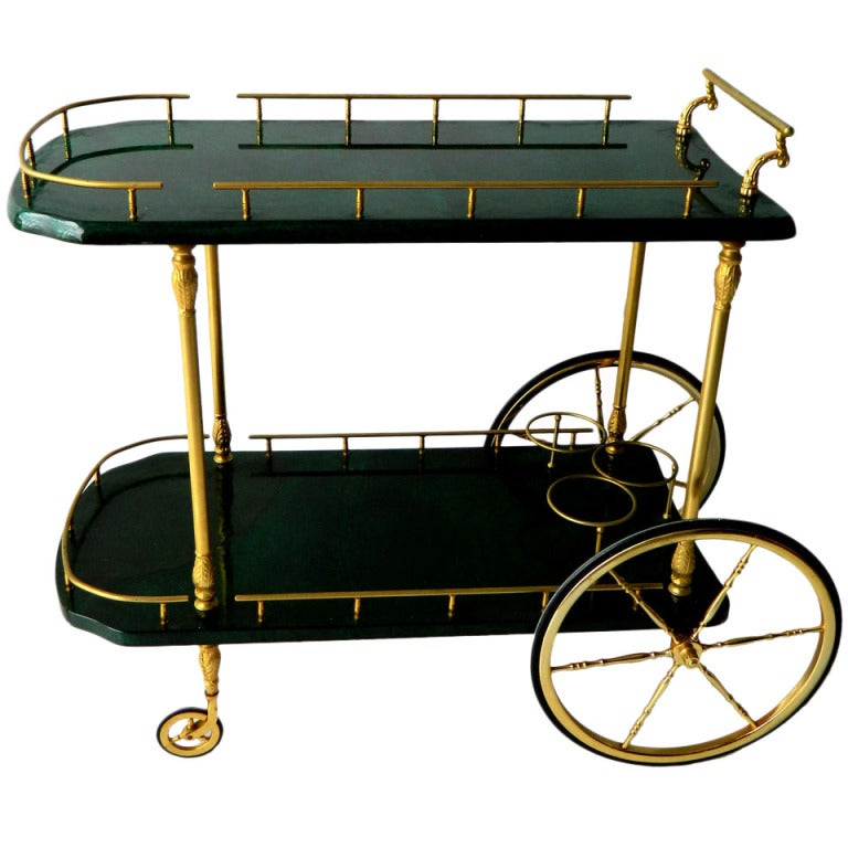Aldo Tura Bar Cart 1