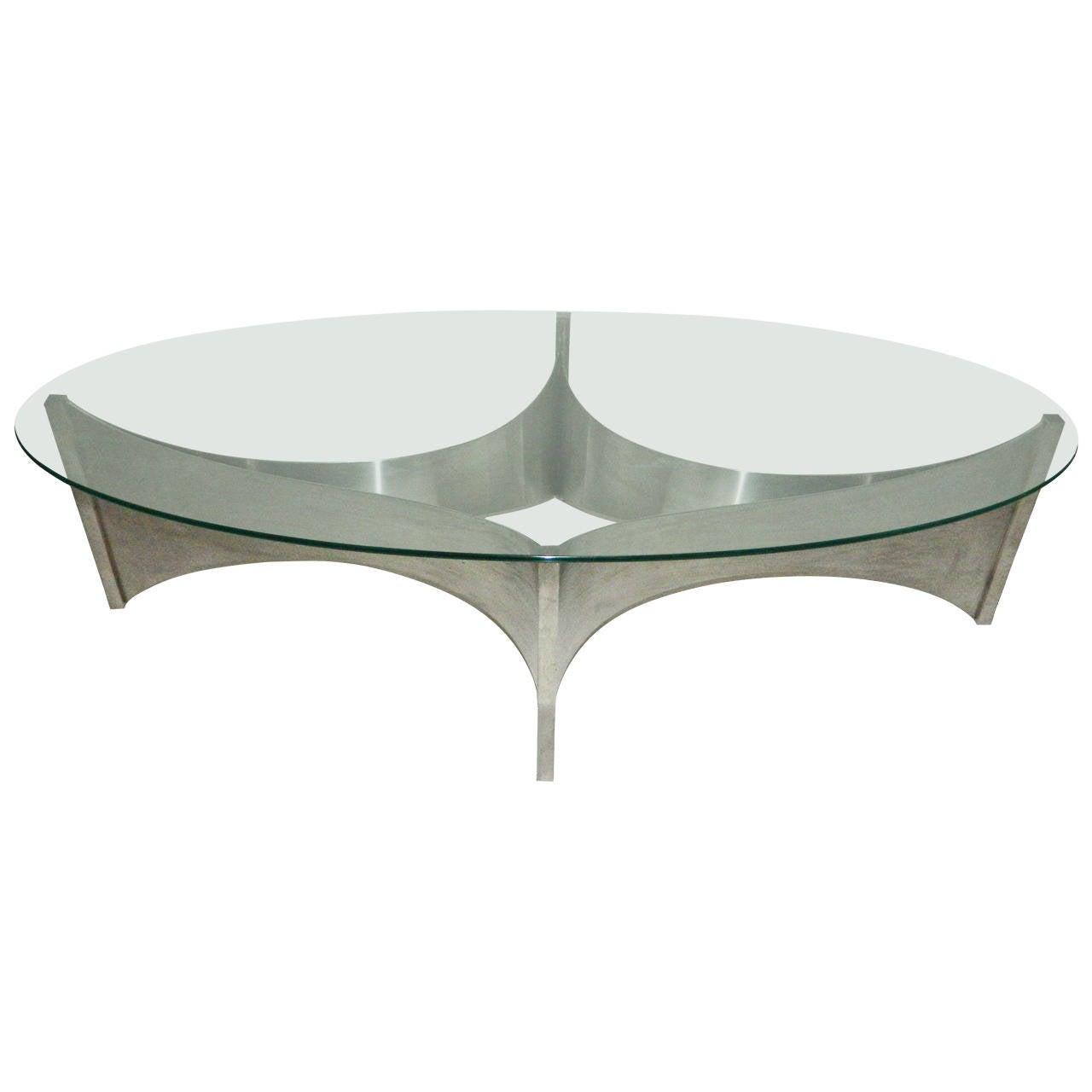 "Coffee Table by Maison Charles ""Voiles"""